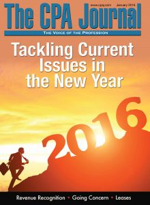 In this Issue: January 2016 - The CPA Journal