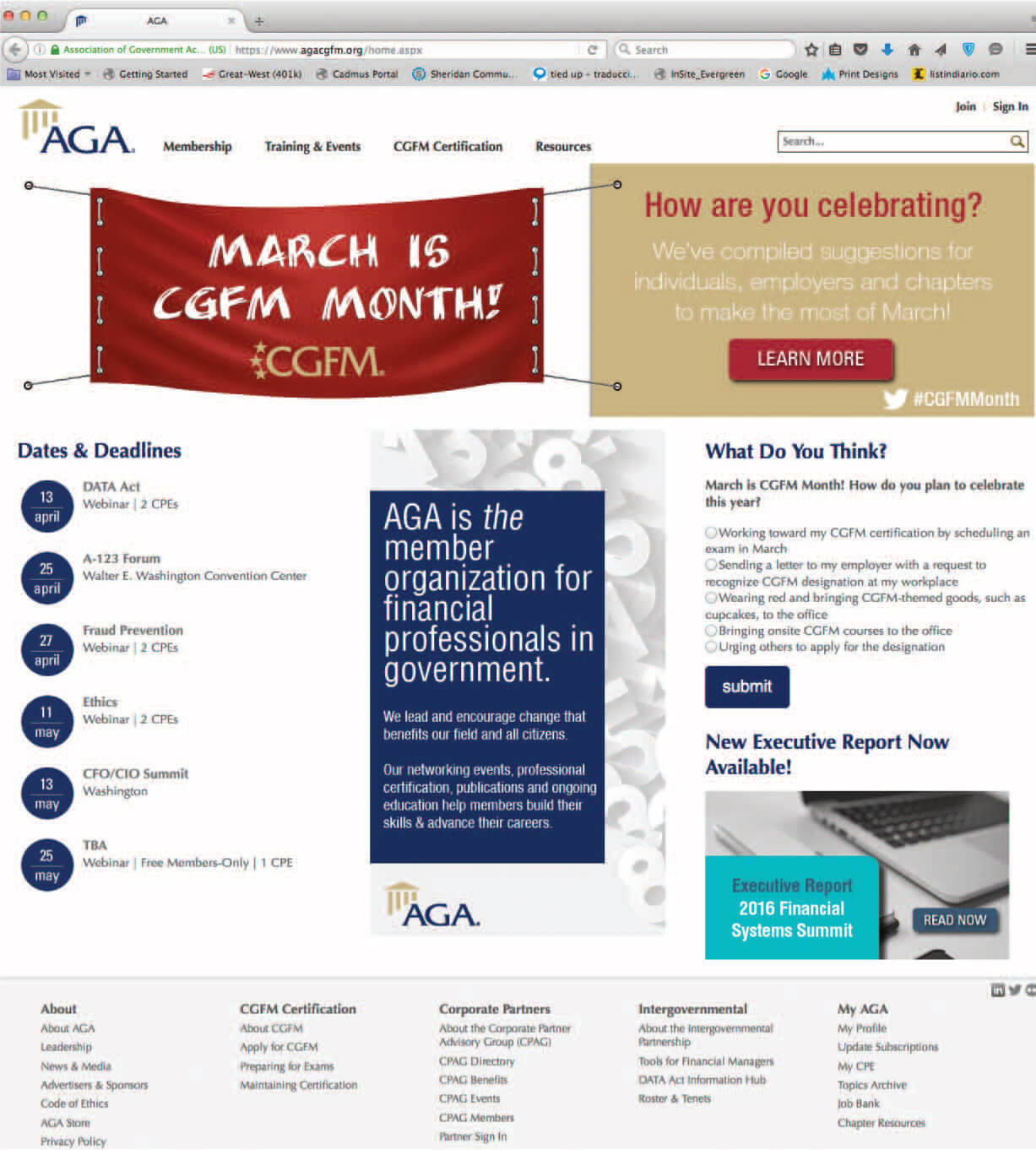 Association Of Government Accountants The Cpa Journal