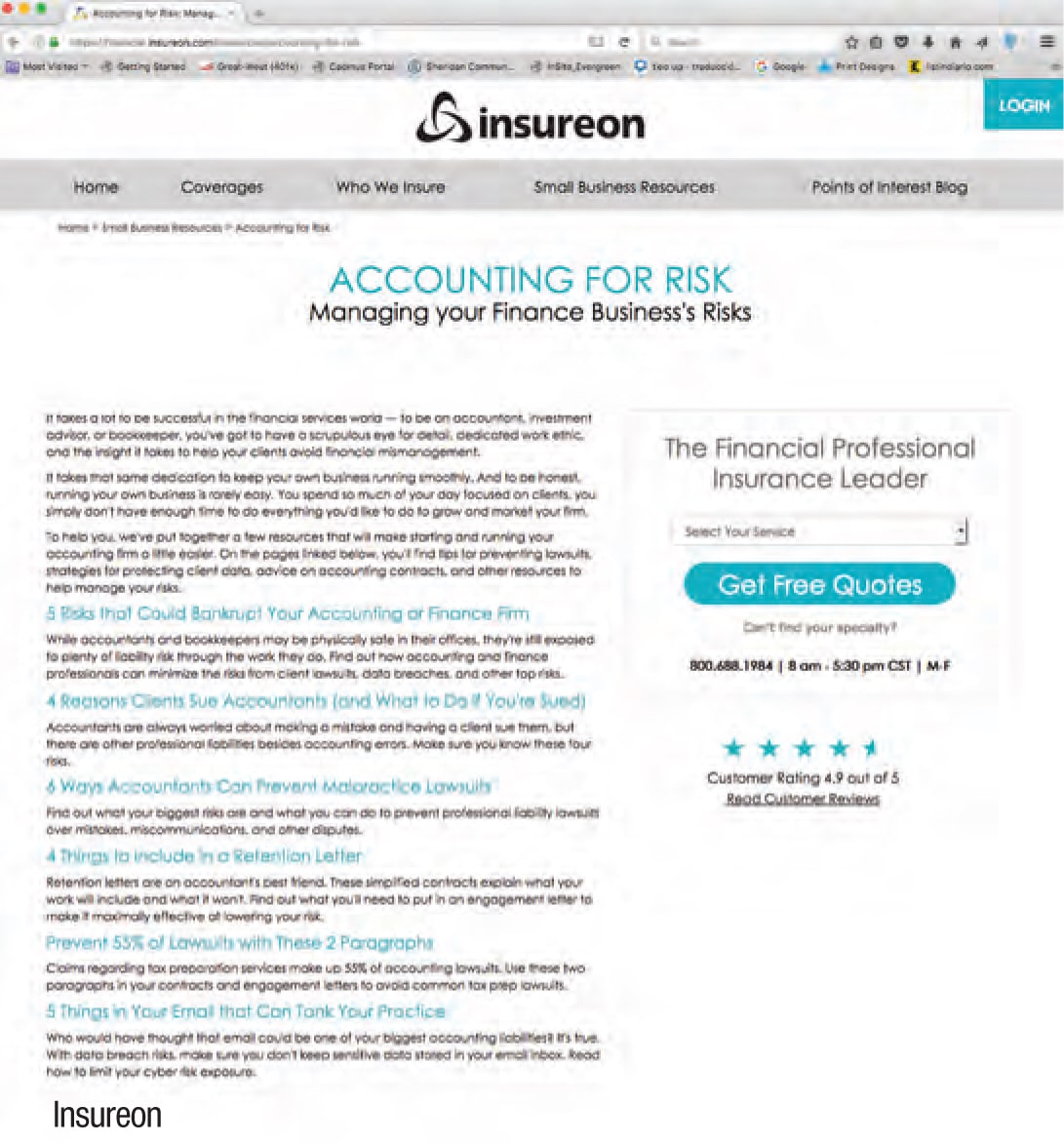 Insureon and Landy Insurance - The CPA Journal